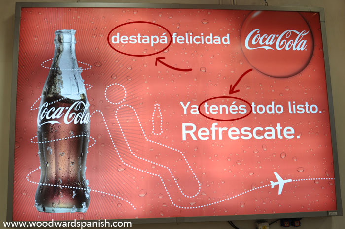 Destapá Felicidad - Spanish in Argentina