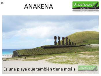 La Playa Anakena de Isla de Pascua