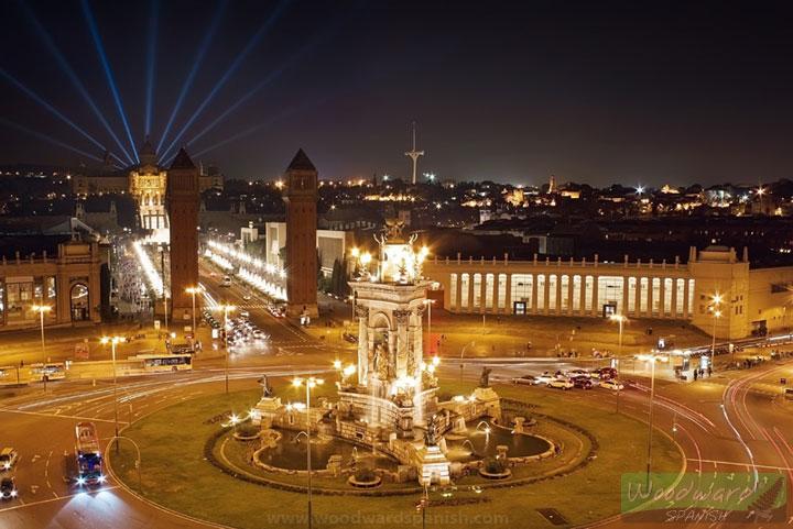 Plaza España Barcelona Spain