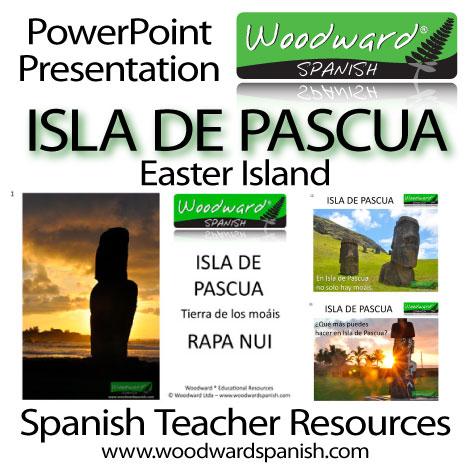 Isla de Pascua - Presentación PowerPoint para profesores de español