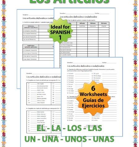 Ejercicios – Artículos Definidos e Indefinidos en español