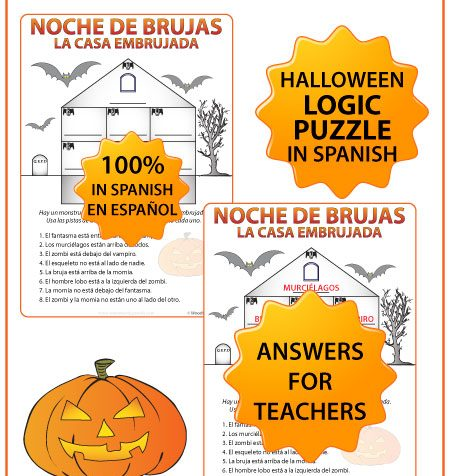 Spanish Halloween Worksheets and Activities Pack | Woodward Spanish