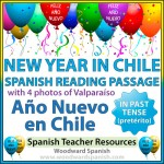 New Year in Chile - Spanish Reading Passage with photos