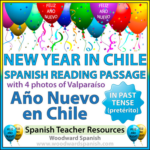 New Year in Chile – Spanish Reading and Photos | Woodward Spanish