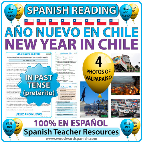 New Year in Chile - Spanish Reading with photos - Año Nuevo en Chile