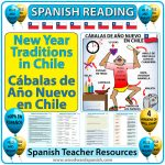 Chile - Cábalas de Año Nuevo - New Year Traditions in Chile - Spanish Reading