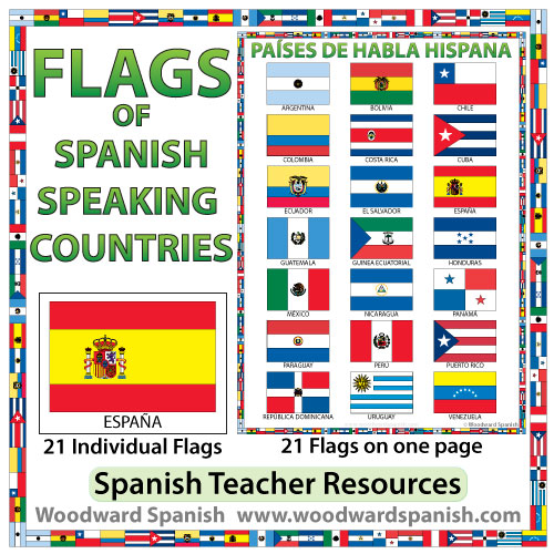 the 21 spanish countries
