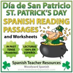 Reading Passages in Spanish about Saint Patrick's Day with Comprehension Questions. - Lecturas del Día de San Patricio con preguntas de comprensión.