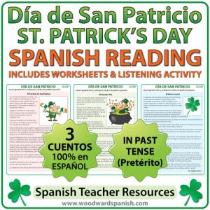 Spanish Reading - Saint Patrick's Day - Lecturas del Día de San Patricio