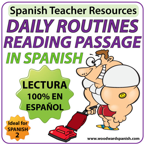 Spanish Daily Routines Reading | Woodward Spanish - photo#4
