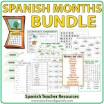 Spanish Months - Bundle of Teacher Resources