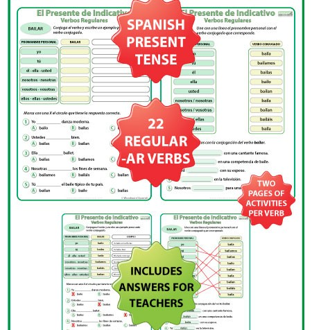 all worksheets spanish ar verb conjugation worksheets printable worksheets guide for. Black Bedroom Furniture Sets. Home Design Ideas