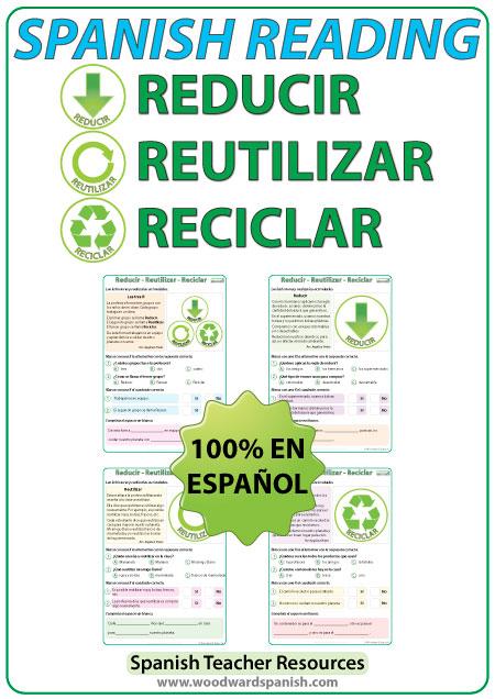 Reducir, Reutilizar y Reciclar Para mejorar el mundo ... |Reducir Reutilizar Y Reciclar