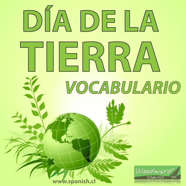 Día de la Tierra - Vocabulario y Recursos para profesores