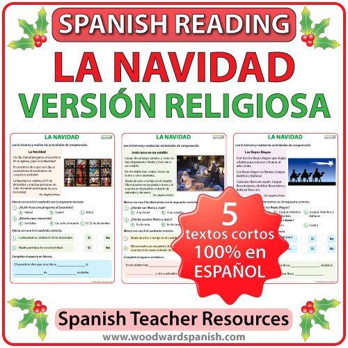 Cuentos de Navidad en Español - Versión Religiosa - Religious stories in Spanish about Christmas