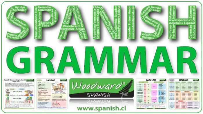 Spanish Grammar Lessons - Lecciones de gramática en español