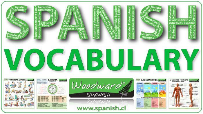 Spanish Vocabulary Lessons - Lecciones de vocabulario en español
